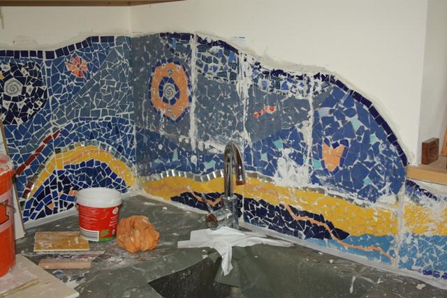 Mosaik Mnchen Mosaike An Der Wand